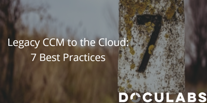 Legacy CCM to the cloud 7 best practices ebook