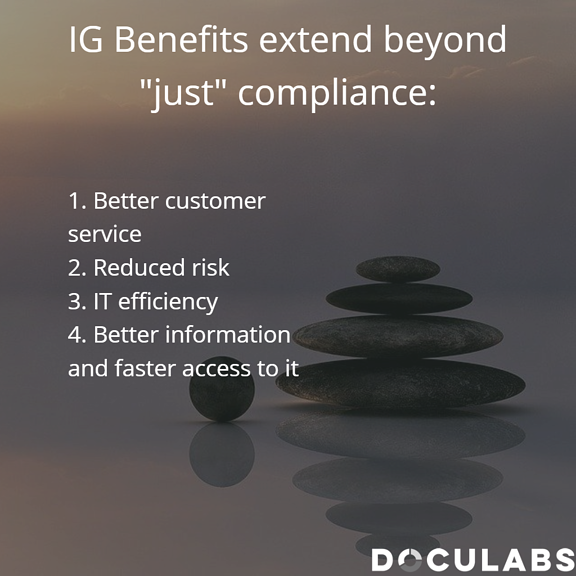 IG benefits more than compliance