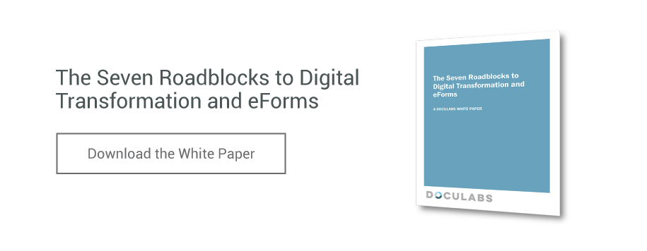 The Seven Roadblocks to Digital Transformation and eForms