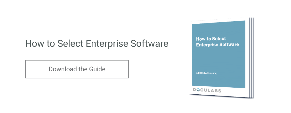 How to Select Enterprise Software